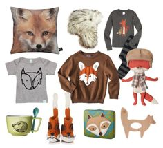 Like a Fox. Kid (Boy or Girl) style inspiration.