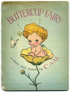Barbara Mary Campbell (CAM) BUTTERCUP FAIRY 1945 rare!