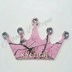 PINK RealTree Camo Crown Wall Decor with by AlbonsBoutique on Etsy