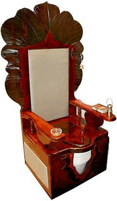 "antique_toilet. Now we know where ""Throne"" came from. hahhahahah"