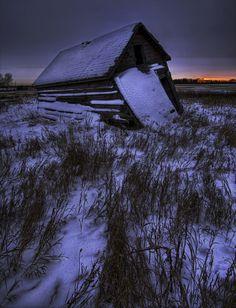 Barn Forgotten Alone