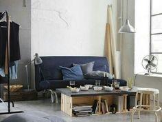 ikea ps h vet 2er bettsofa vansta dunkelblau pinterest ikea und m bel. Black Bedroom Furniture Sets. Home Design Ideas