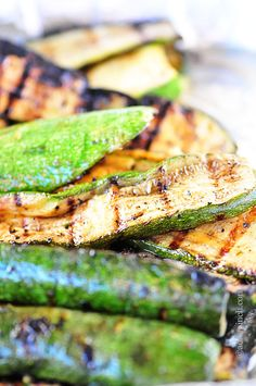 Grilled Zucchini - Grilled Zucchini makes an essential summertime side dish. Get this family favorite grilled zucchini recipe.