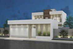 home dco - home Villa Design, Facade Design, Modern House Design, Container Home Designs, Small Apartment Furniture, Apartment Design, Style At Home, Parallel Kitchen Design, Desert Homes