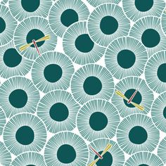 Manufacturer: Cloud 9 (11) |  Designer: Michelle Engel Bencsko |  Collection: Across the Pond |  Print Name: Aster in Sky