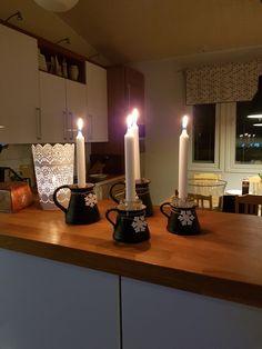 Kynttiläruukku askartelua