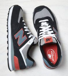 Black New Balance New Balance Core Plus 574 Sneaker