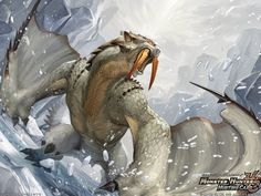 Barioth - Monster hunter, Monster card