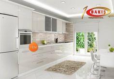 Pürüzsüz parlak yüzeyi ve yeni renkleri ile acrylic kapaklar mutfaklarınıza çok yakışacak #bakiskapak #acrylic #mutfak #banyo #kitchen #bath #modern