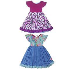 TwirlyGirl - Reversible Twirly Everlasting Girls Pretty Dresses   Blueberry Swirly Cupcake, $82.00 (http://www.twirlygirlshop.com/girls-pretty-dresses/)