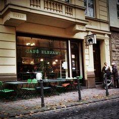CAFÉ ELEFANT I Agnesviertel I Weißenburgstraße 50 in 50670 Köln I Café mit kleinem Außenbereich straßenseitig Cafe Restaurant, Cologne, Sweet Home, City, Travel, Bonn, Beer Garden, Dortmund, Germany