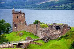 Invergordon, Scotland, Loch Ness is here