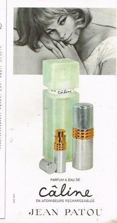 1967 Parfum Eau de Toilette Caline par Jean patou