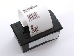 Add a mini printer to any microcontroller project with this very cute thermal printer. Also known as receipt printers, they're what you get when you go to the ATM or grocery store. Print text, barcodes, bitmap graphics, even a QR code! Diy Electronics, Electronics Projects, Picture Printer, Mobile Printer, Thermal Printer, Arduino Projects, Pi Projects, Project Ideas, Mini Photo