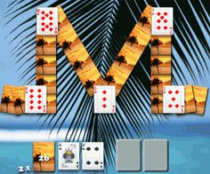 Waikiki Solitaire is an exciting free game. The goal of the game is to place all cards with the same number #solitaire, #spider_solitaire, #solitaire_games, #free_solitaire, #solitaire_online