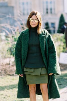going green. Ceec in Paris. #ChristineCentenera