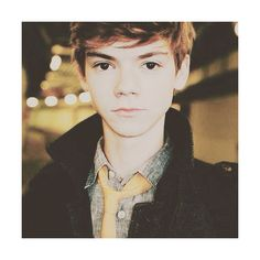 thomas sangster icon on Tumblr ❤ liked on Polyvore featuring thomas sangster