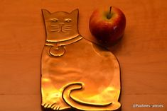Rubel Solid Brass Cat Trivet very good condition weight 448g 20.5cm long   | eBay