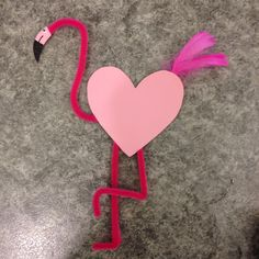Crafty Kids, Flamingo, Valentines Day, Tips, Hair, Crafts, Ideas, Creative, Pictures