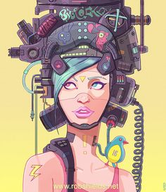 Check out this awesome piece by Rob Shields on #DrawCrowd