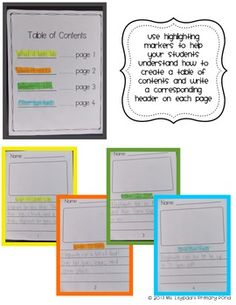 """Nonfiction writing for Kindergarten - """"All About"""" books! $"""