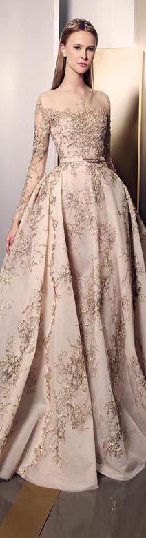 #ZiadNakad ZNsignature2016 Haute Couture Collection #dress