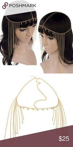 Goddess Hair Chain New Goddess Hair Chain gold plated. See boutique for more fashions posted daily! Follow us to see New items posted daily!  #love #beauty #makeup #fashion #swimsuit #streetwear #style #trend #boho #matte #201 #designer #crop #mid #wedding #marriage #women #plussize #plus #petite #small #medium #large #unicorn #brush #gold #silver #human #hair #dress #shirt #short #top #sunglasses #watches #jewelry #choker #multilayer #bohemian #rings #leggings #necklace #bracelet #crop…