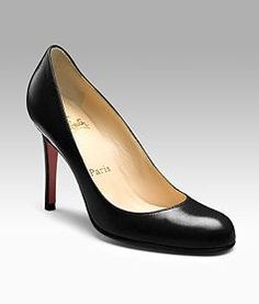 Perfect career shoe for those of us who have to work. :)