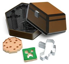 Minecraft Cookie Cutters Let You Stack Cookies In-Game and in Real Life trendhunter.com