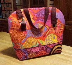 (9) Name: 'Sewing : First Class Zipper-top Handbag