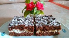 Perníkový tvaroháč so slivkovým lekvárom - recept Dessert Recipes, Desserts, Food, Basket, Tailgate Desserts, Deserts, Essen, Postres, Meals
