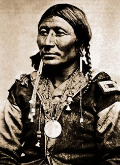 Kiowa Apache man Black Hawk 1875