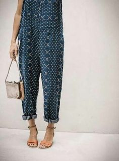 Printed jumpsuit #Fashionista #Inspiration