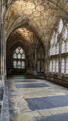 Cathedral Architecture, Gothic Architecture, Historical Architecture, Beautiful Architecture, Architecture Details, Beautiful Castles, Beautiful Buildings, Brick Archway, Gloucester Cathedral