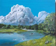 Nuvole sul fiume
