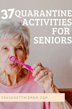 Are your grandparents or parents stuck at home and running out of things to do? Read this list of 37 safe activities to do during the coronavirus. Some of these activities you can do over facetime with the grand kids.