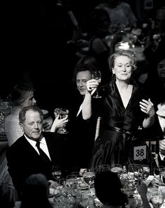 Film Society of Lincoln Center Gala Tribute to Meryl Streep (2008) (With husband, Donald Gummer.)