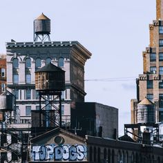 Water Towers in the City / Photo by Pavel Bendov