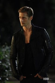 Eric Northman, yum. Hello heaven