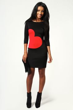 Repin if you LOVE this dress as much as we do! http://www.boohoo.com/restofworld/collections/valentines-shop/icat/valentines-shop/evening-dresses/shelley-heart-bodycon-dress/invt/azz55025#