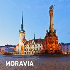 The Holy Trinity Column in Olomouc, Moravia, Czechia European Countries, Coat Of Arms, Ancestry, Czech Republic, Barcelona Cathedral, Attraction, Travel Destinations, Places To Visit, Country