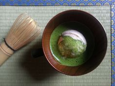 This is our new recipe, inspired by Japan's recent trend: Matcha Affogato . An affogato is an Italian coffee-based dessert.  It usua...