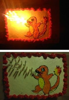Pokemon Cake ~ @Whitney Clark Miller - Jayce will love this!