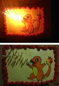 Pokemon Cake ~ @Whitney Clark Miller - Jayce will love this!