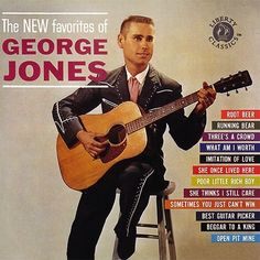 The NEW favorites of George Jones Best Country Singers, Country Music, Running Bear, Old Vinyl Records, City Folk, George Jones, Satin Sheets, George Strait, Jack White