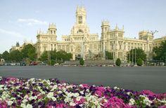 Spain, Madrid,  Madrid Post Office