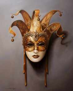 Enjoy buying art online: look for contemporary art in a fun way, find the artwork you like the most to decorate, give or collect Venetian Masquerade Masks, Venetian Carnival Masks, Masquerade Theme, Masquerade Ball, Costume Venitien, Paper Mache Mask, Ceramic Mask, Venice Mask, Cool Masks