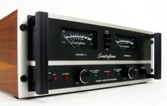 Soundcraftsmen MA5200  Stereo Power Amplifier     A beast of an amplifier with stunningly clean output even when driven to extended levels. Well known in the audio world for its build quality and outstanding dynamic range. Conservatively rated at 325 watts into 4 ohms. The one you see on the left benched 400+ watts into 4 ohms.