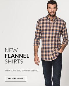 Flannel Shirts, Plaid Flannel, Mens Style Guide, Mens Fashion, Fashion Outfits, Mens Clothing Styles, Men's Collection, Men's Style, Style Guides