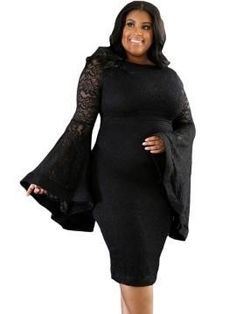 www.the1royalboutique.com Beautiful classic flared sleeve lace dress. https://www.the1royalboutique.com/products/wmd-2?utm_campaign=crowdfire&utm_content=crowdfire&utm_medium=social&utm_source=pinterest #style #slay #elegance #nyc #amazing #london #fashion #queens #beautiful #pretty #hot #igaddict #cute #boutique #beauty #lady #royalty #church #cogic
